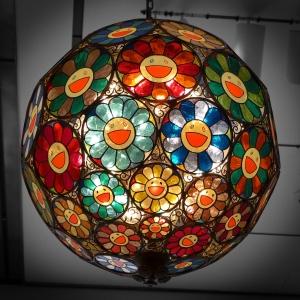 Takashi Murakami Flower Lamp